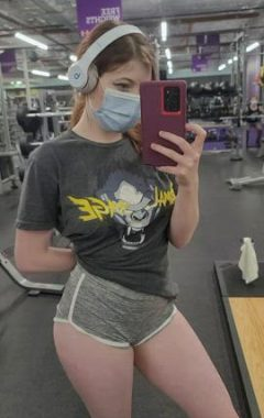 Flashing Mid Work Out ;)